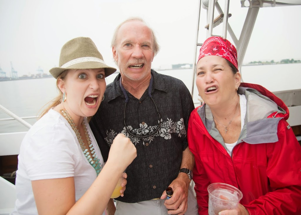 pirate party faces with family