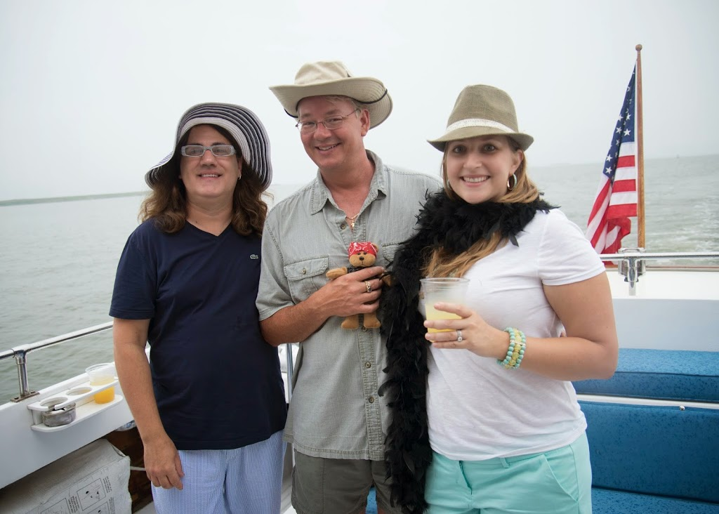 gilligan's island theme party on a boat
