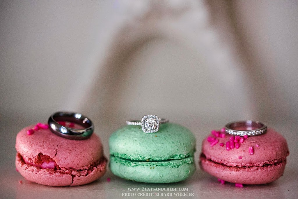 Wedding Engagement Rings Macarons