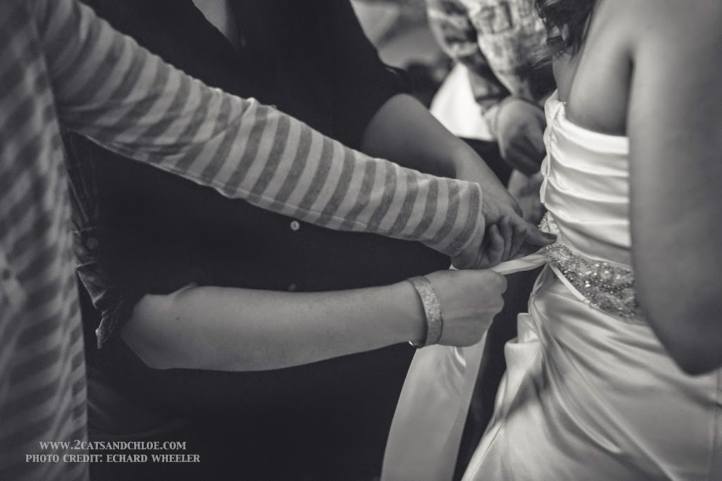 Wedding Dress Sash: Finishing Touches