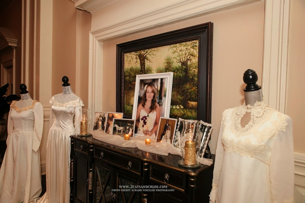 Wedding Generations Table and Vintage Wedding Dresses