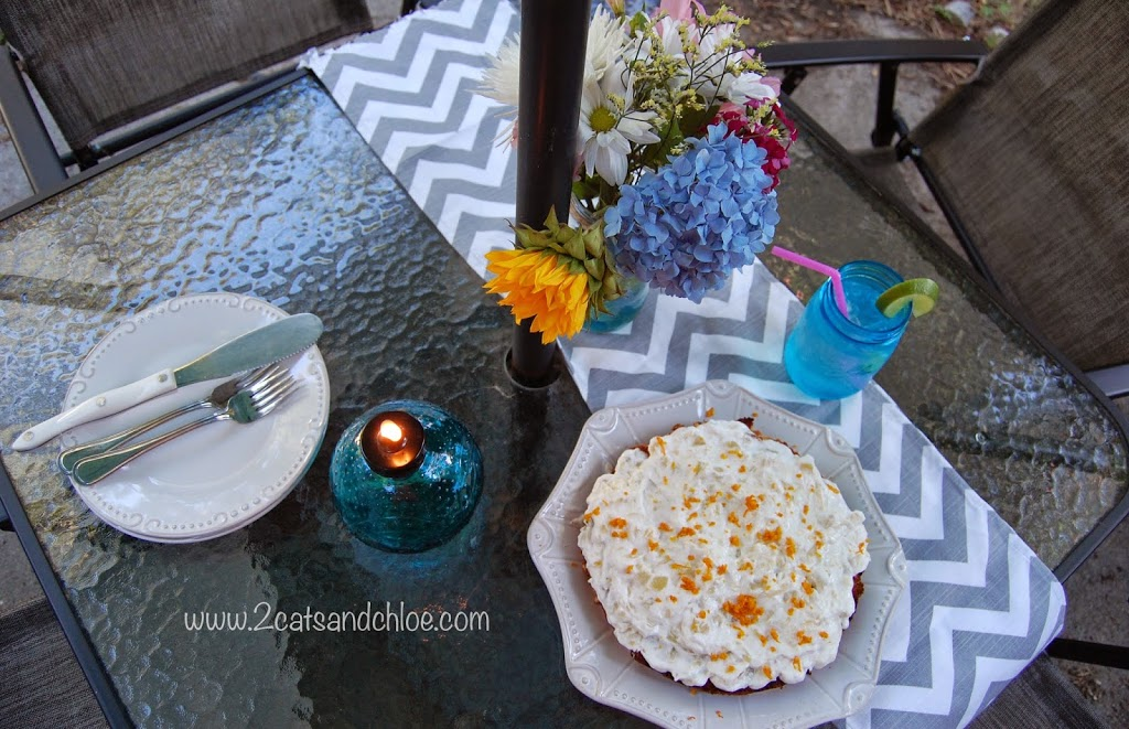paleo orange cream cake recipe