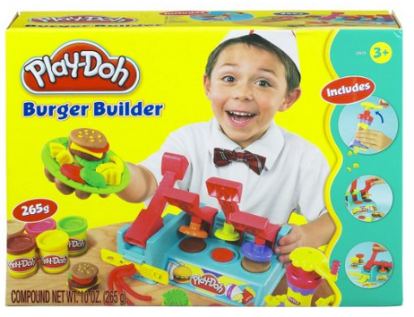 play-doh french fry and burger maker via amazon
