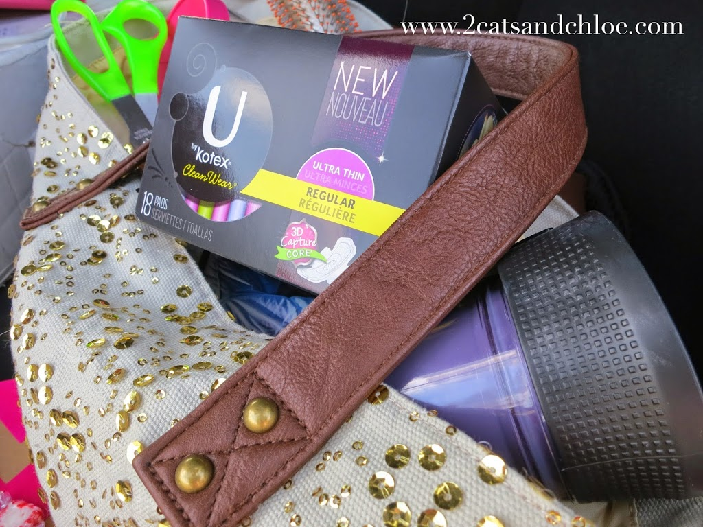 Kotex in Bridal Bag