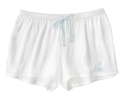 Bride Boxers from Target