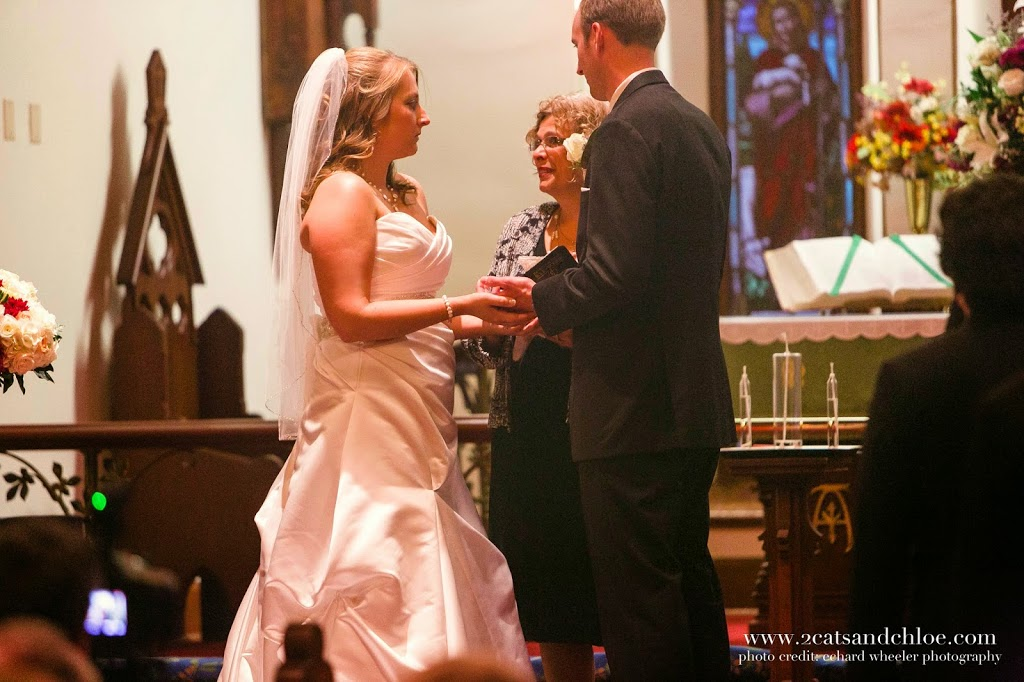 Virginia Wedding, Chapel of the Centurion on Fort Monroe
