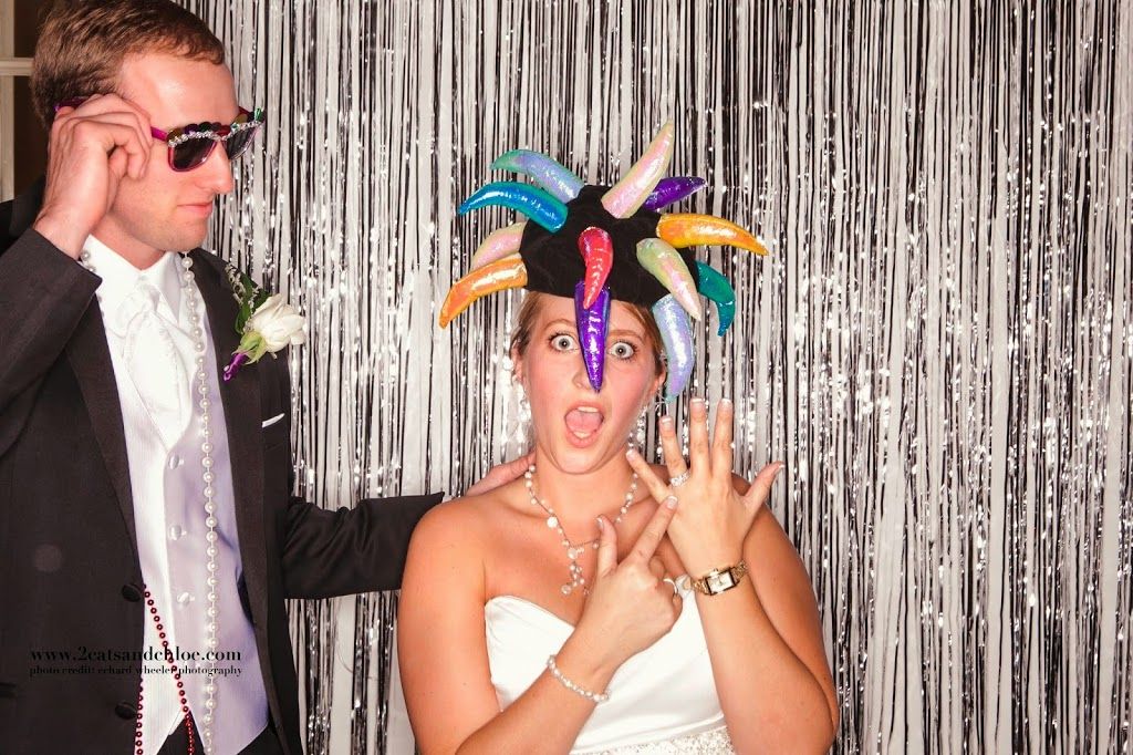 Bridal Bling in Wedding Photo booth