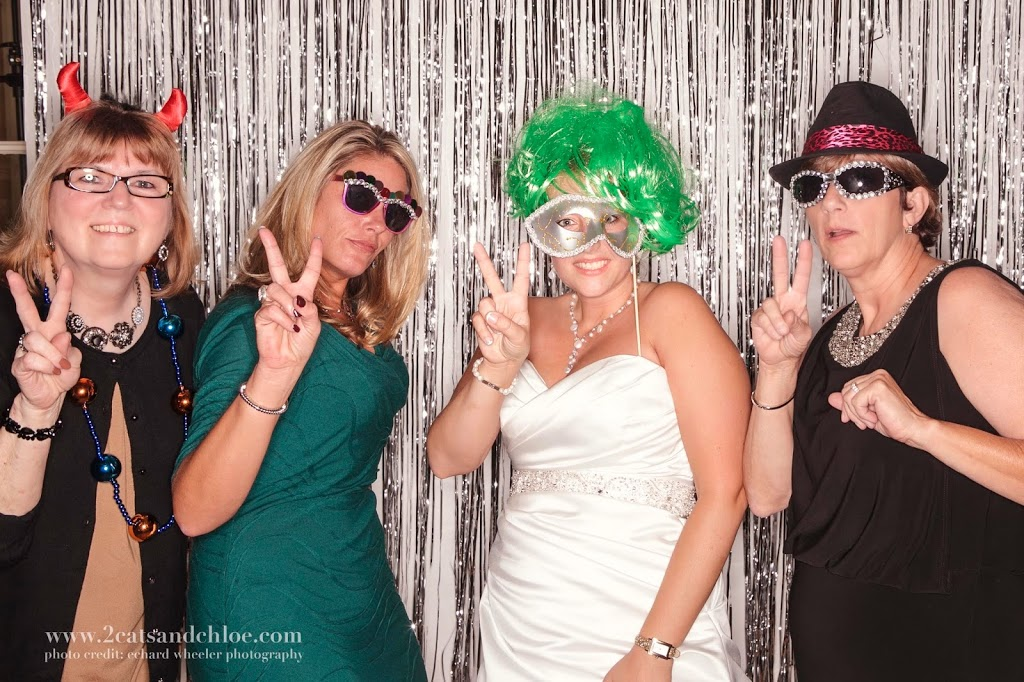 Photo Booth at a Classy Wedding