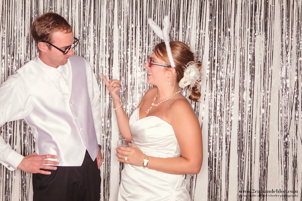 Husband and Wife Wedding Photo Booth Props