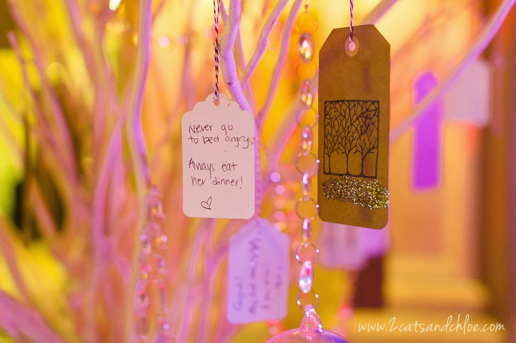 Wedding Wish Tree Notes from Guests