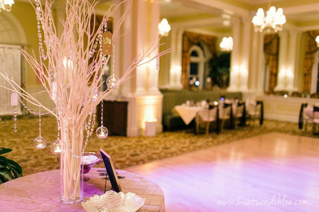 Wedding Wish Tree with beads and candle globes