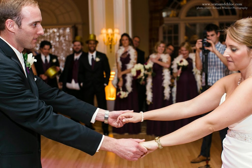 Bride and Groom First dance after lessons