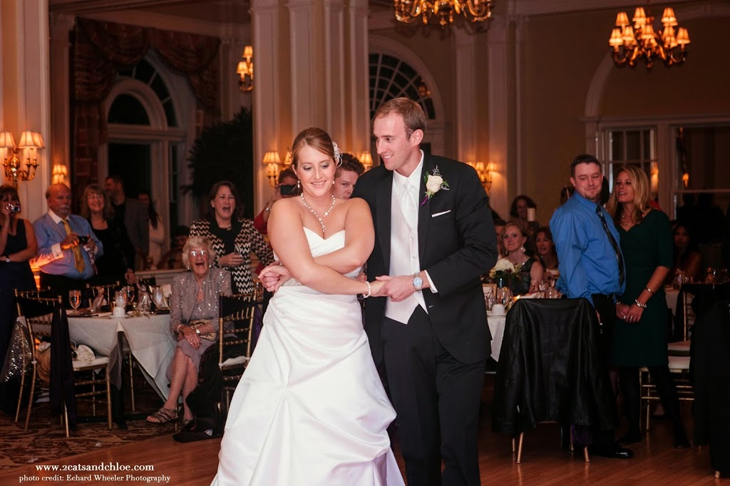 First Dance, shocking our guests! Hampton Roads Chamberlin Wedding