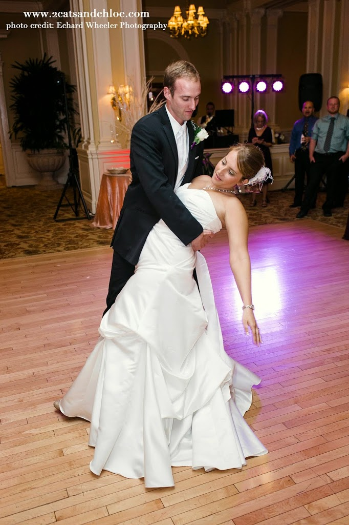 First Dance, bride and groom, virginia