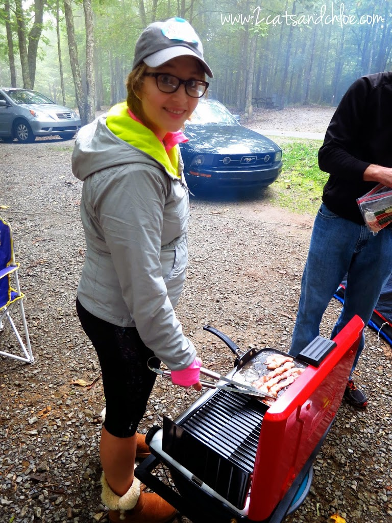 Paleo Cooking while Camping!