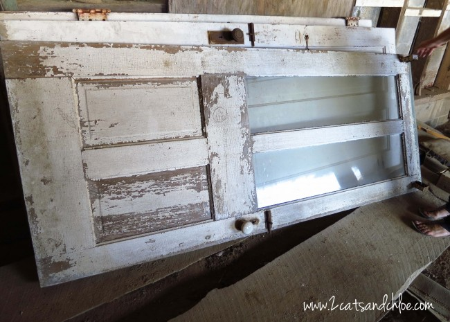 DIY Antique Doors
