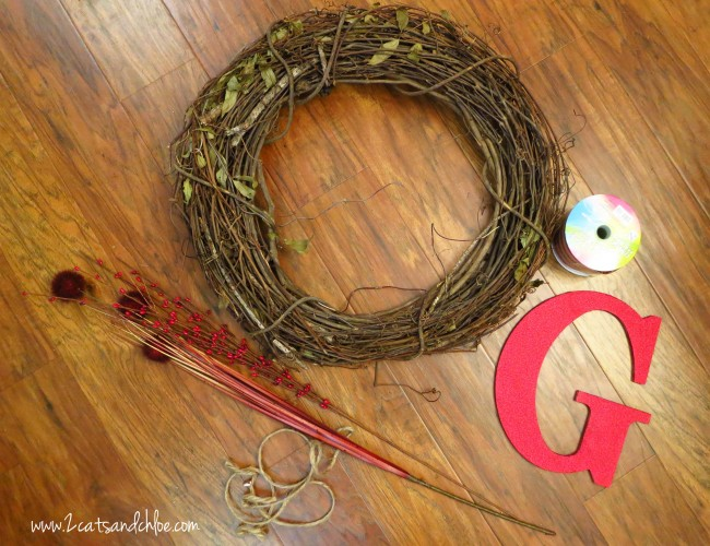 DIY Grapevine Wreath Supplies