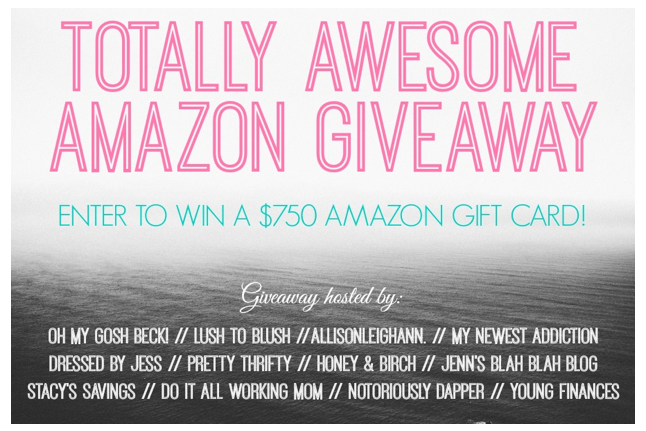 Blogger Amazong Giveaway