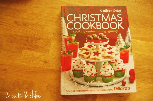 2 cats & chloe: Southern living Christmas cookbook, ronald mcdonald house charity