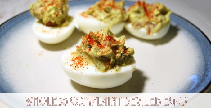Ready for Super Bowl Sunday: Whole30 Deviled Eggs