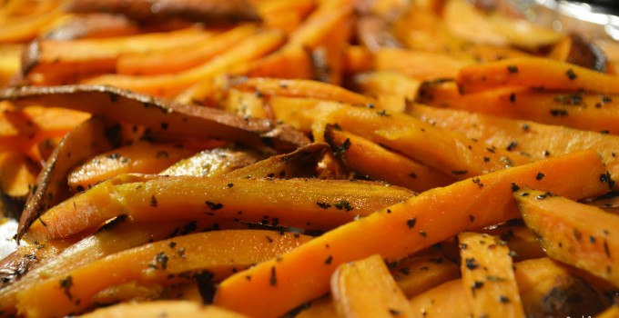 CELEBRATE SOUTHERN: Whole 30 + Paleo Sweet Potato Fries