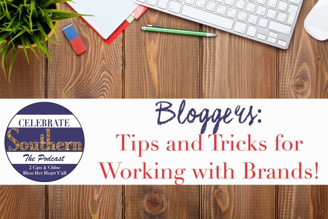 2 cats & chloe: Bloggers working with brands  // tips on how to work with brands on your blog  // blogger podcast