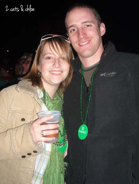 Suz and Mike St Pats Day 2011