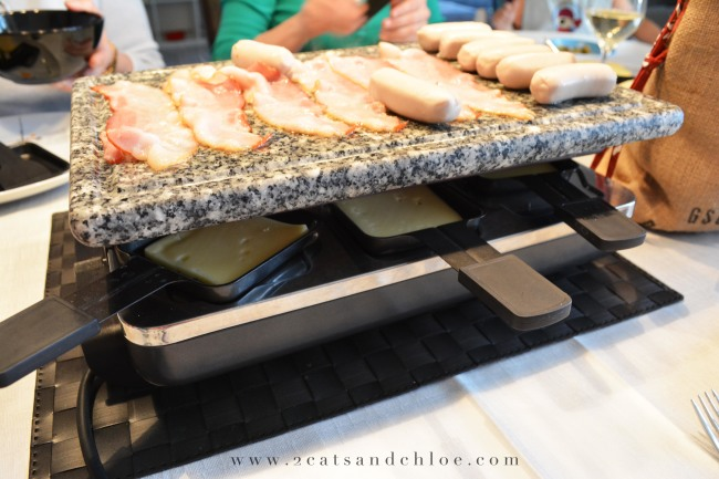 Swiss Raclette griddle