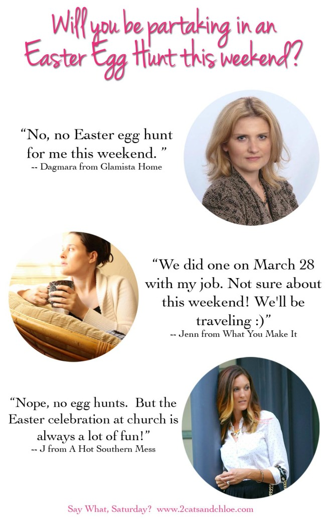 Easter Egg Hunt for Bloggers