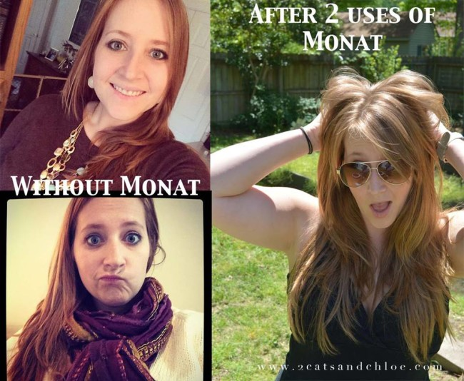 2 cats & chloe: Organic Monat Before and After Pictures!