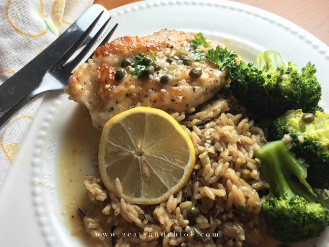 2 cats & chloe: Paleo, Gluten Free Chicken Dinner