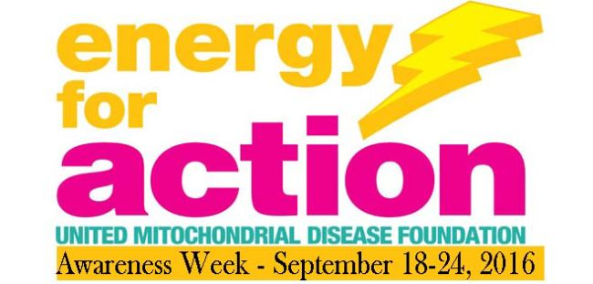 Mitochondrial Disease Awareness Week 2016