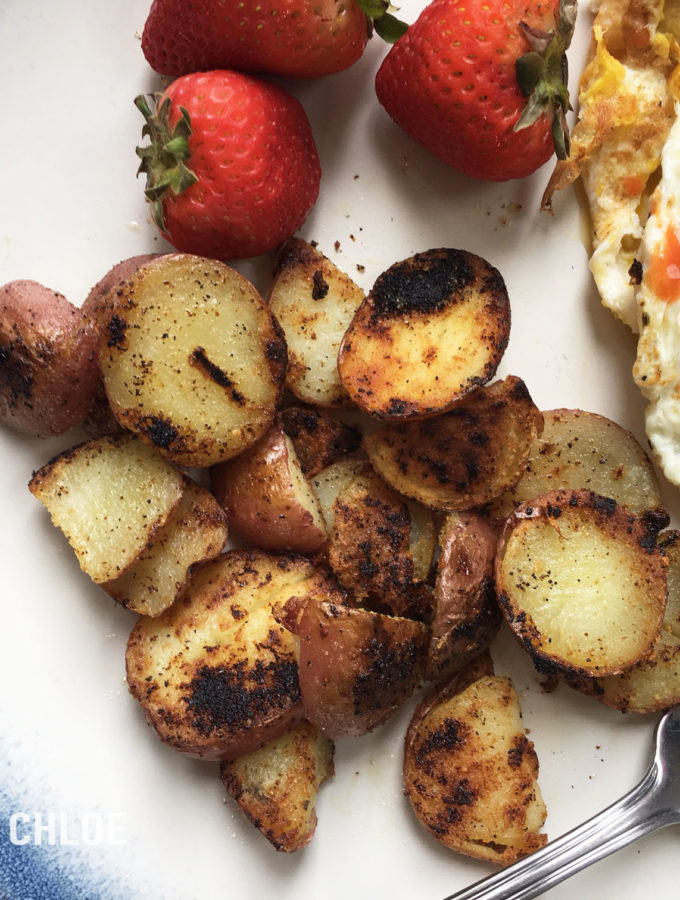 2 cats & chloe: Whole30 Breakfast Potatoes