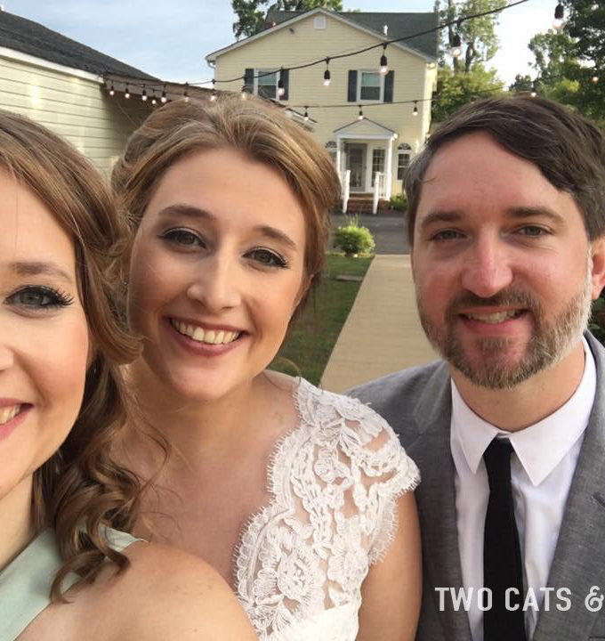2 cats & chloe: wedding toast